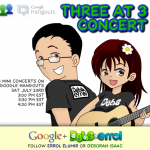 Google Hangout Concert with Debs and Errol
