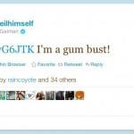 Neil Gaiman Tweeted Me